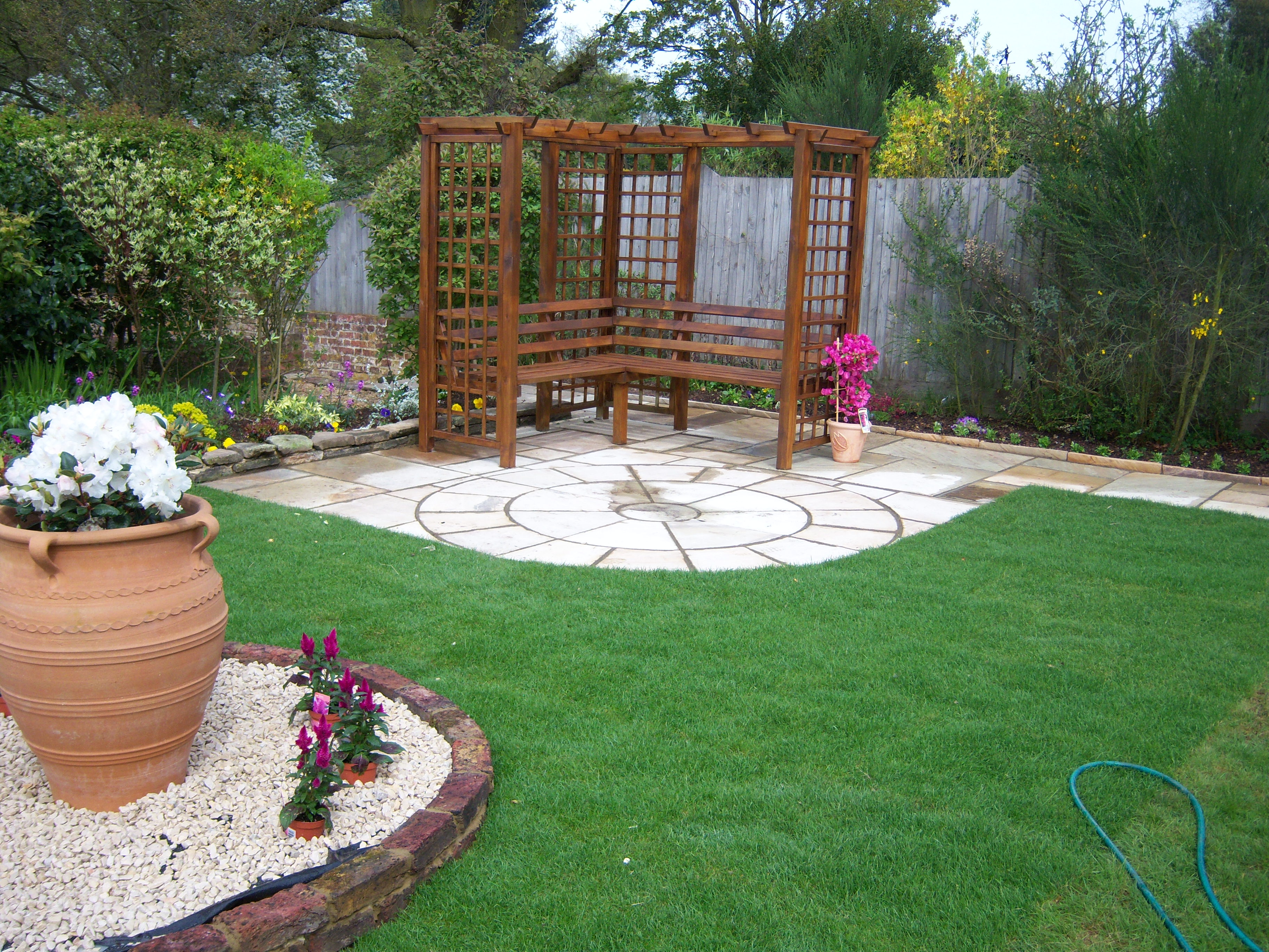 Work gallery gs garden services north london gs garden for Garden service