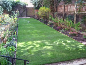 New lawn laid
